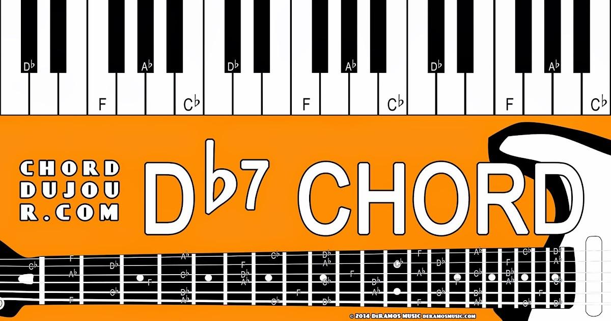 Chord Du Jour Dictionary Db7 Chord