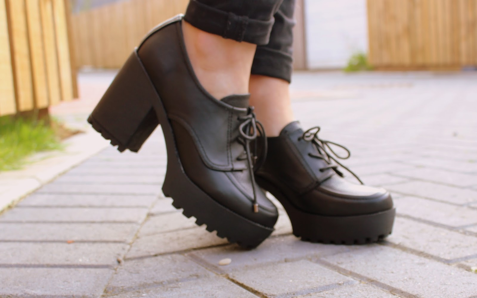 Chunky Lace up shoes