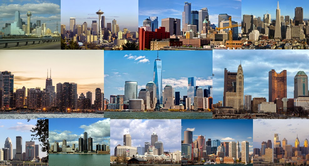 quiz name the 20 us city skylines kuriositas ForUs City Skylines Photos