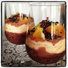 Chocolate & Orange Pudding
