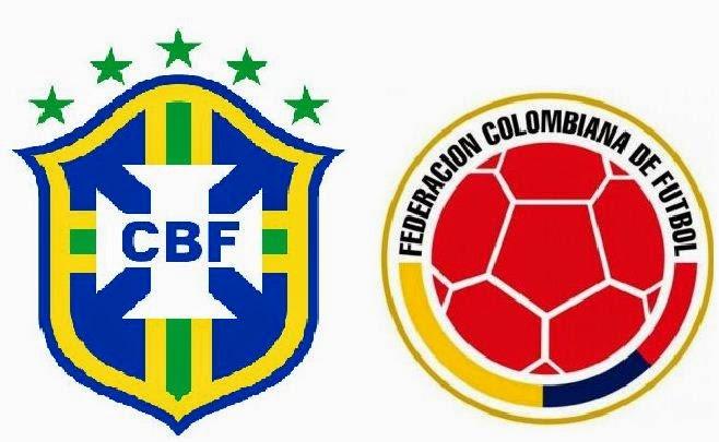 Brasil Colombia cuarto del mundial en maracana