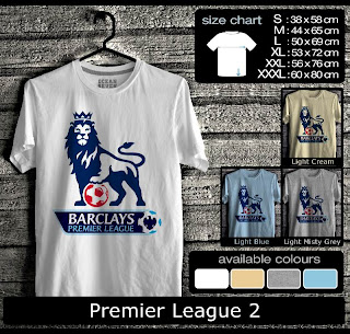 T-shirt Bola Premier League 2