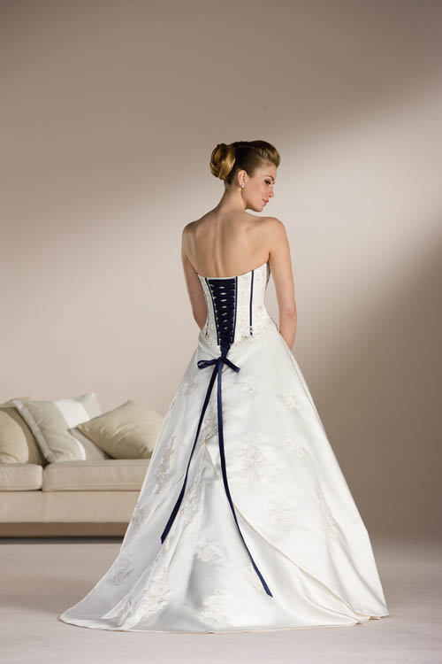 wedding dresses design with black corset wedding dress