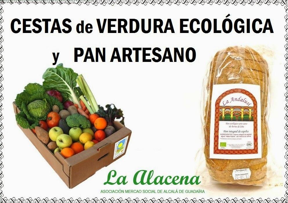 Cestas de Verdura Ecológica y Pan Artesano