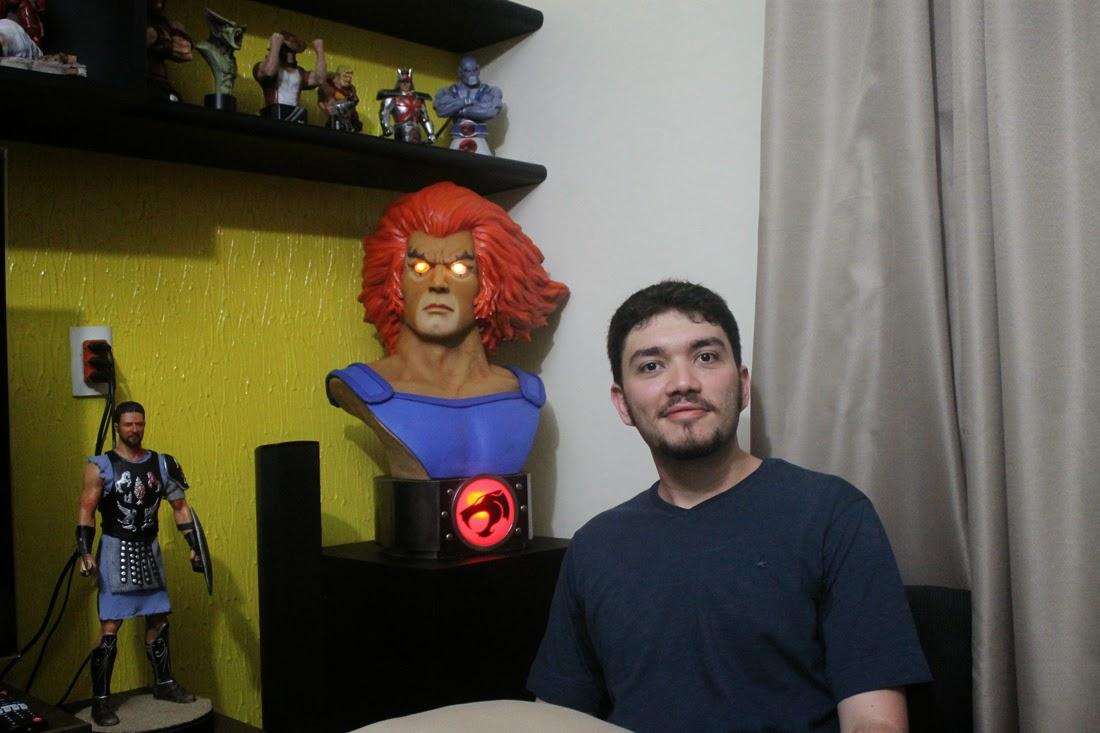 Osmar Daou visitando Edinho Maga