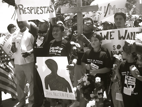 Respuestas/Answers for the Death of José Nelson Reyes-Zelaya