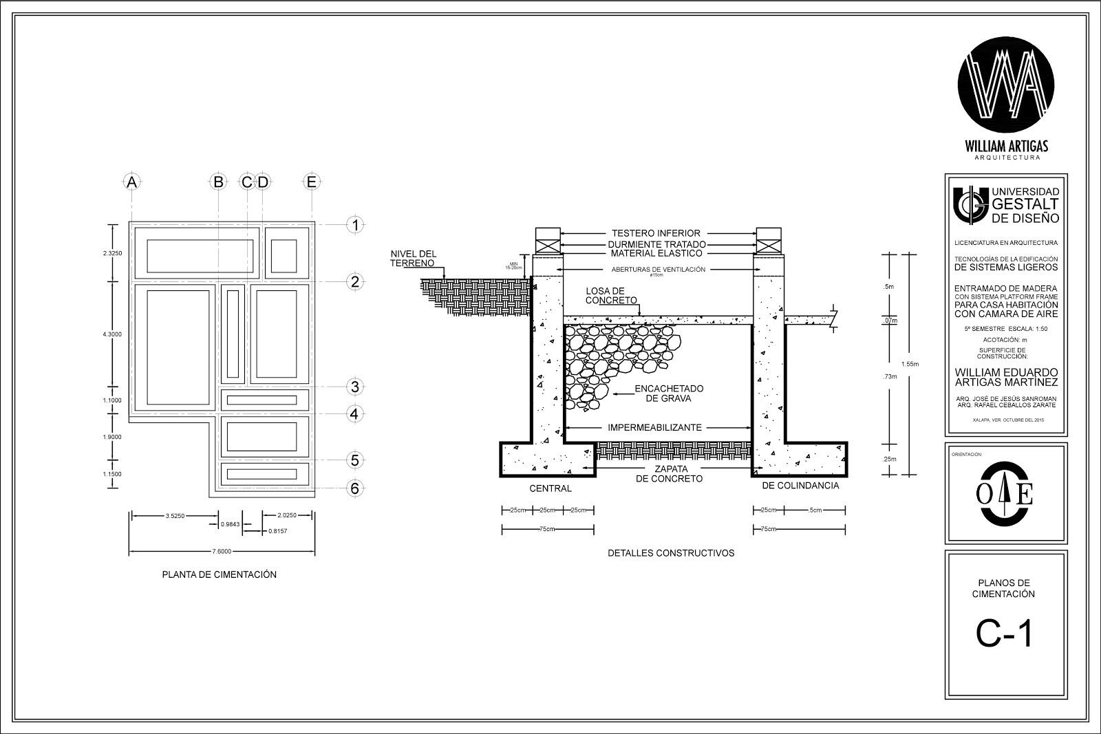 Modelo vivenda con entramado de madera platform frame for Como se hace un plano arquitectonico