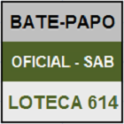LOTECA 614 - BATE-PAPO OFICIAL DO SÁBADO - MINI