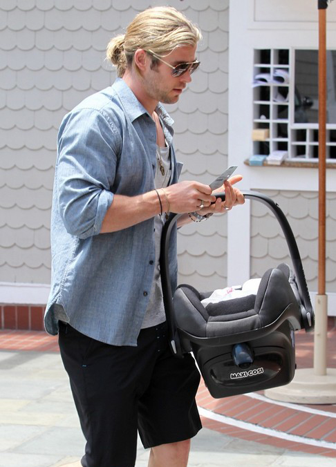Chris Hemsworth Takes Good Care Of India » Gossip | Chris Hemsworth