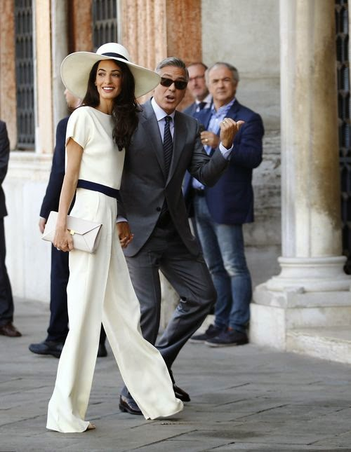 George Clooney and Amal Alamuddin legalized relationships in Venice City Hall