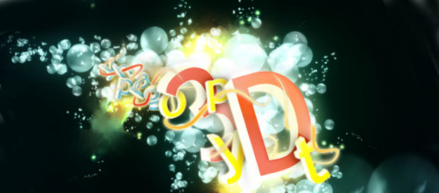 An Amazing Bubble Text Art in Photoshop