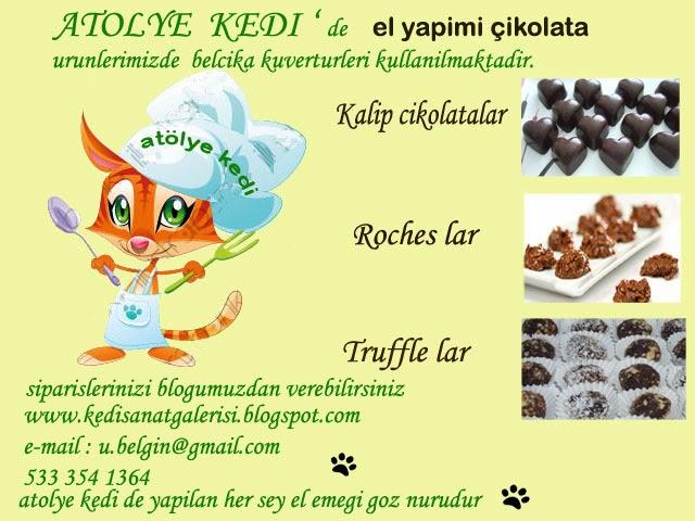 truffle,roches,kalıp çikolatalar