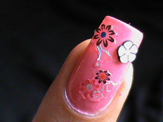 Easy nail designs with FIMO flower nail art- Fimo Canes nail art design Tutorial Video for beginners DIY