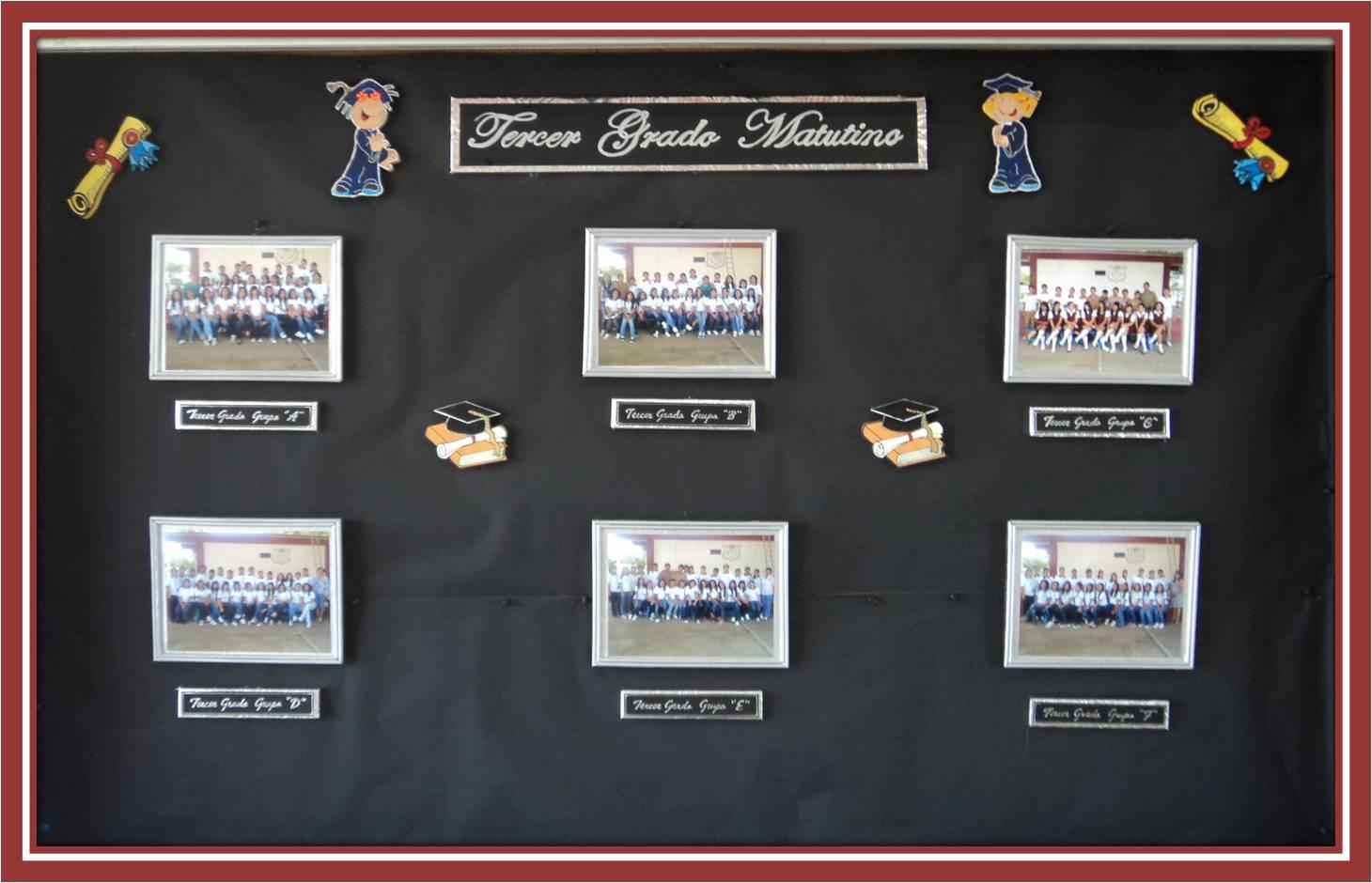 Periodico Mural Graduacion Primaria