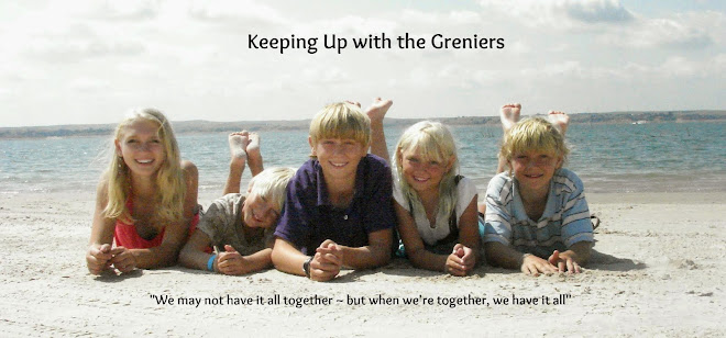 Keeping up with the Greniers!