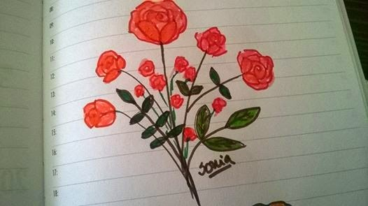 Cómo dibujar paso a paso una rosa a lápiz o carboncillo - Imagenes De Flores Para Dibujar Paso A Paso