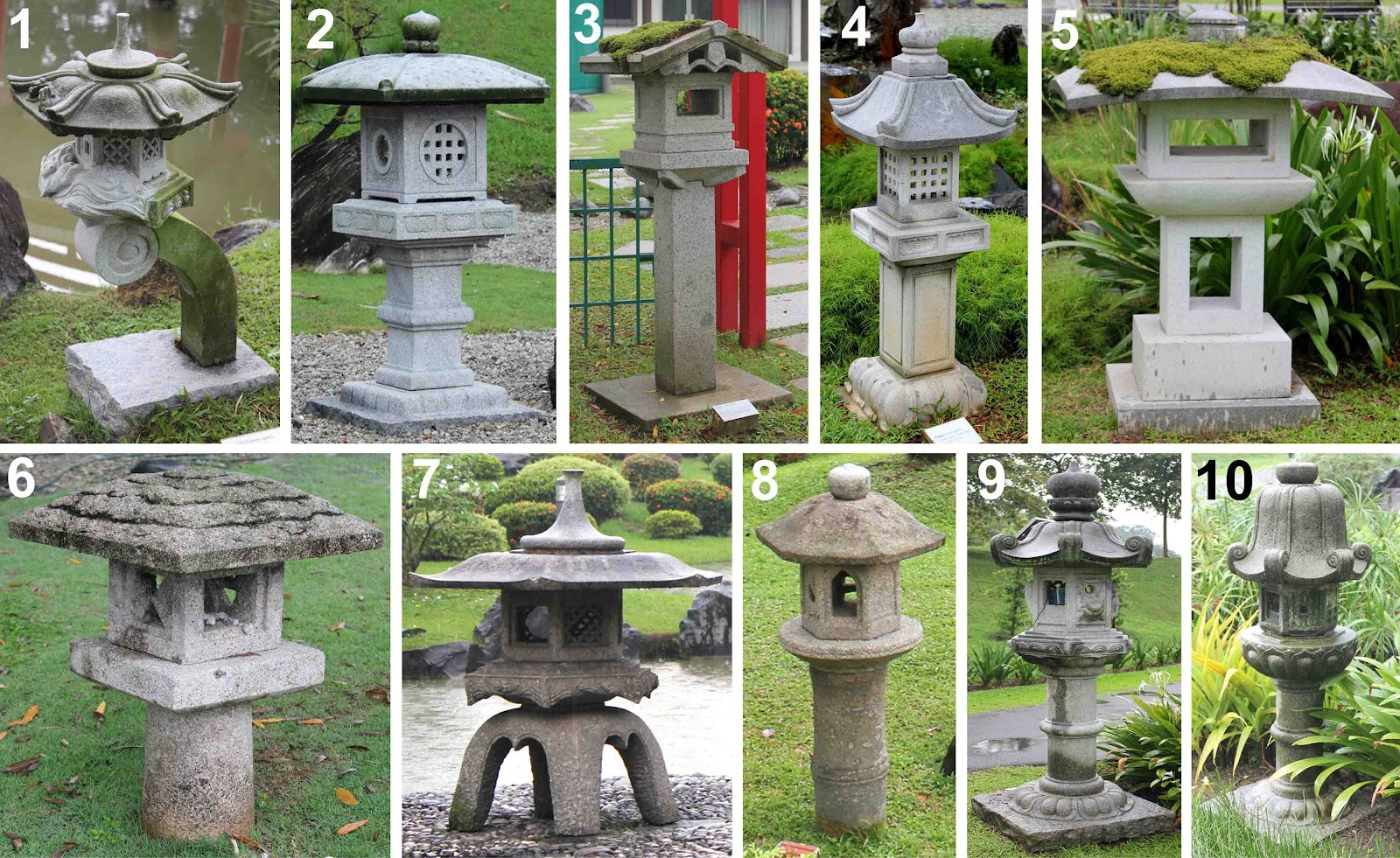 stone lanterns at singapore japanese garden bonsai blog. Black Bedroom Furniture Sets. Home Design Ideas