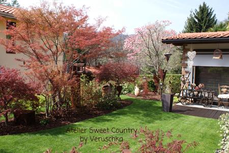 Atelier sweet country scorci del mio giardino