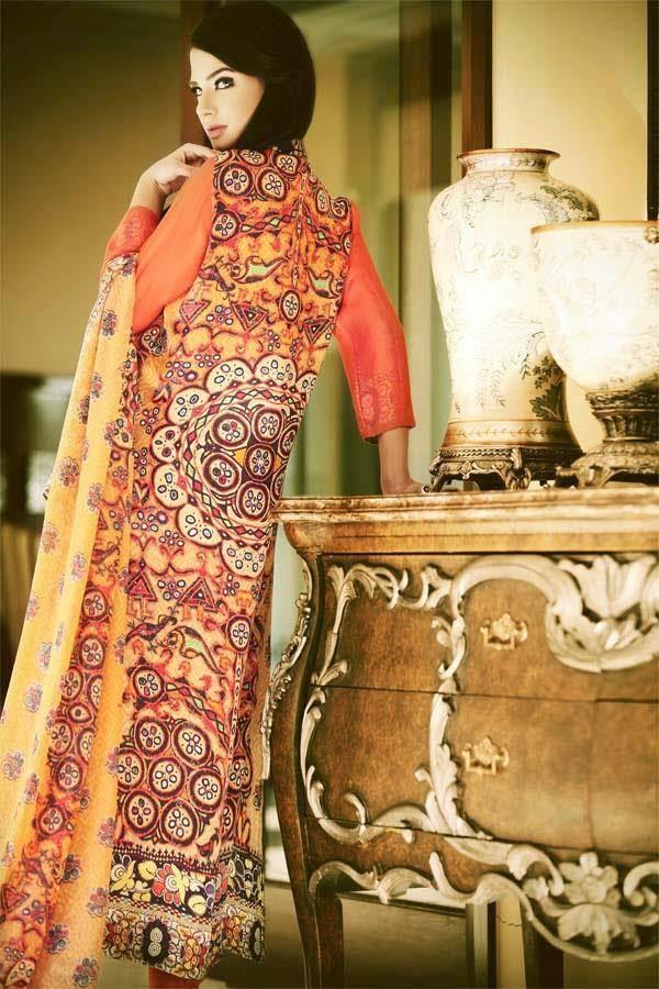 Sana Salman (Riffat & Sana) Women Winter Wear Dresses 2015