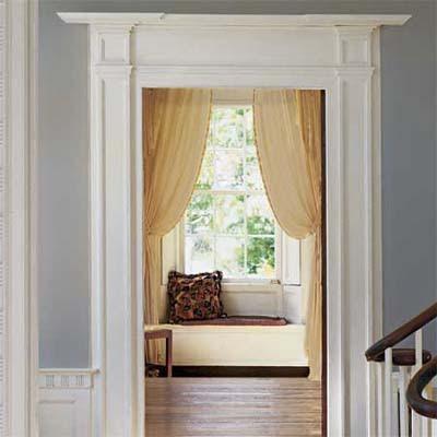 Lynn morris interiors ten diy ideas under 100 for your for Decorative door frame ideas