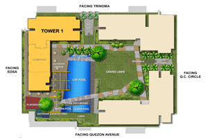 Avida Towers Vita Site Development Map