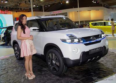 Foto Model SPG Motor Show