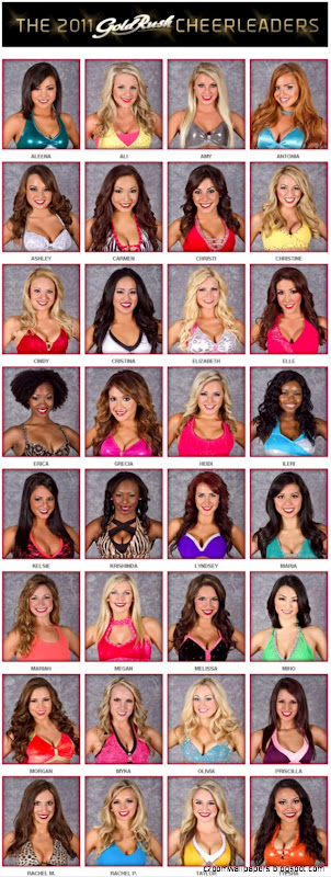 2011 San Francisco 49ers Cheerleaders «