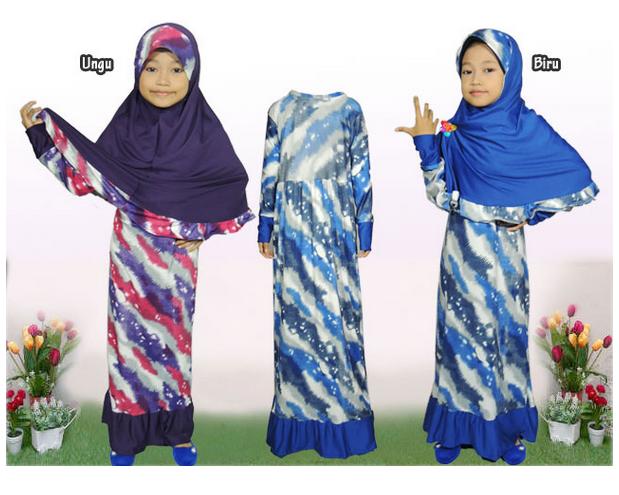 Gambar Baju Gamis Anak Terbaru