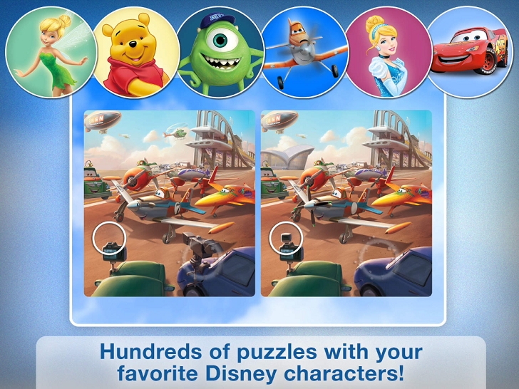 Disney Puzzle Packs App iTunes App By Disney - FreeApps.ws
