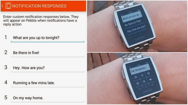 Pebble smartwatch gets Android Wear notifications support
