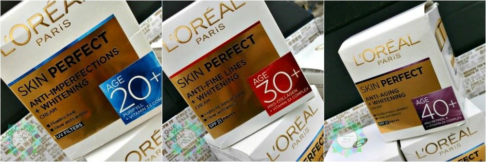 L'Oreal Paris Skin Perfect Expert Skin Care for Every Age, L'oreal Paris, Skin Perfect range, Loreal Skin care, Loreal in India, Loreal, Skin care for blemish free skin, Indian Beauty Blogger, Indian Makeup Blogger