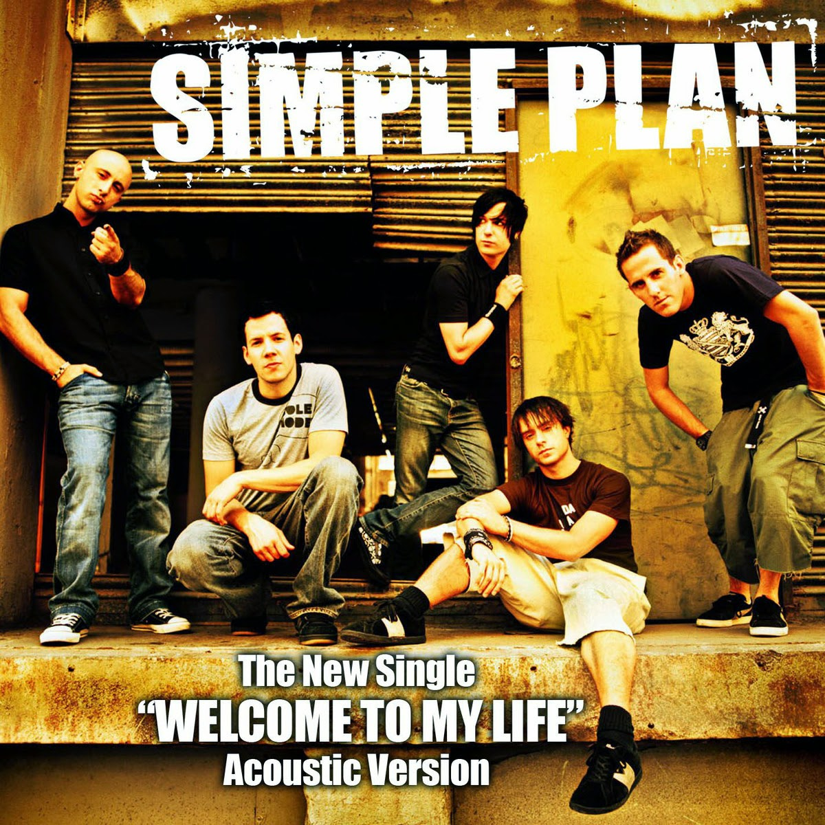 Blackone simple plan welcome to my life acoustic for Simple single
