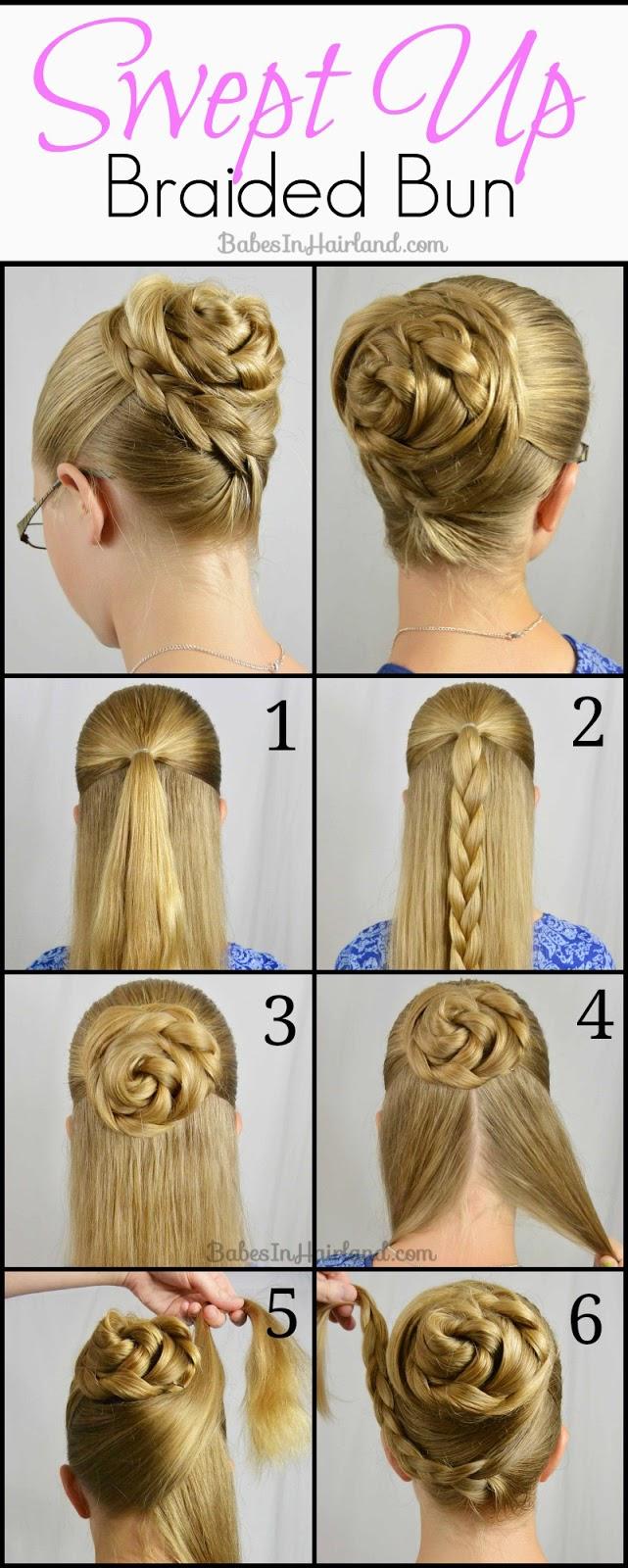 Как сделать девочке прическу пошаговая инструкция