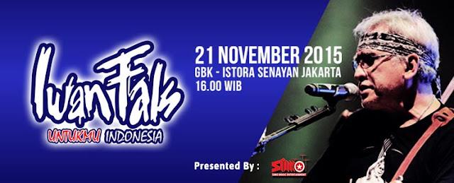 Konser IWAN FALS Untukmu Indonesia