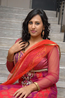 Actress Rajitha Latest Pictures in Red Salwar Kameez at My Heart is Beating Movie Audio Launch