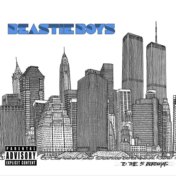 Beastie Boys - To the 5 Boroughs Cover