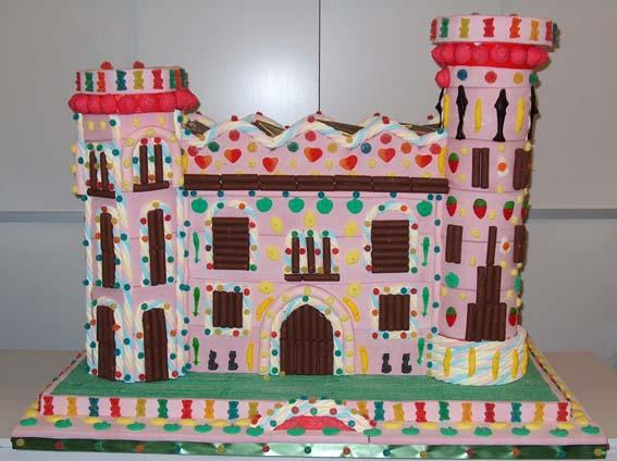 Castillo Pastel de chuches