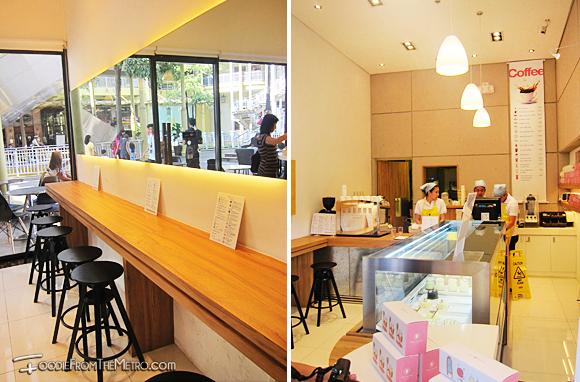 Foodie from the Metro - Chez Karine Bakery Interior Design