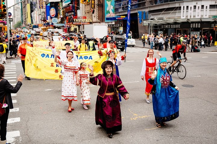 Falun Dafa (Falun Gong) Around the World! 法轮大法(法轮功)在世界各地!