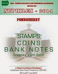 Coin & Stamp Exhibition in Puducherry