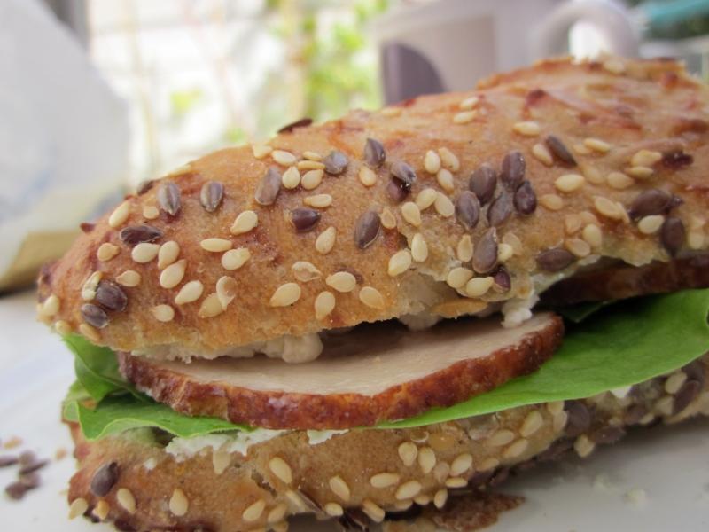 Rezepte mit Kräuter - frische Kräuter vom Balkon direkt auf's Brot