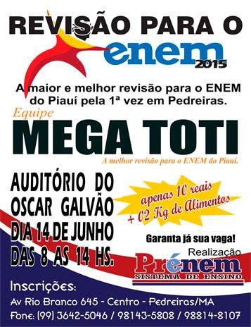 Revisão do ENEM 2015