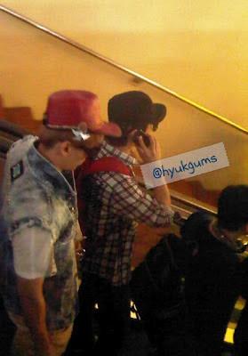 Foto-foto Super Junior di Bandara Soekarno-Hatta Jakarta