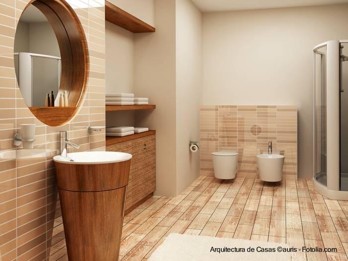 Baño Estilo Contemporaneo:Arquitectura de Casas: Diseños de baños de casas residenciales y