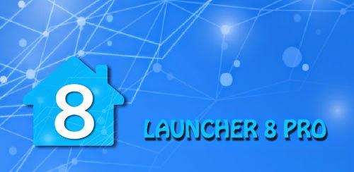 Download Launcher 8 Pro v2.4.5 APK TERBARU