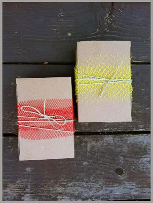 Упаковка новогодних подарков - Конфетти и золотинки
