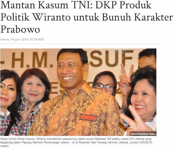 Wiranto: Penculikan Aktivis 98 Inisiatif Pribadi Prabowo ...
