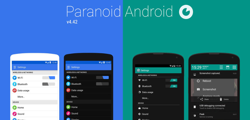 Paranoid Android tendrá Android L