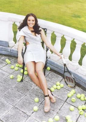 laura robson jugando al tenis de las mas sexys del mundo