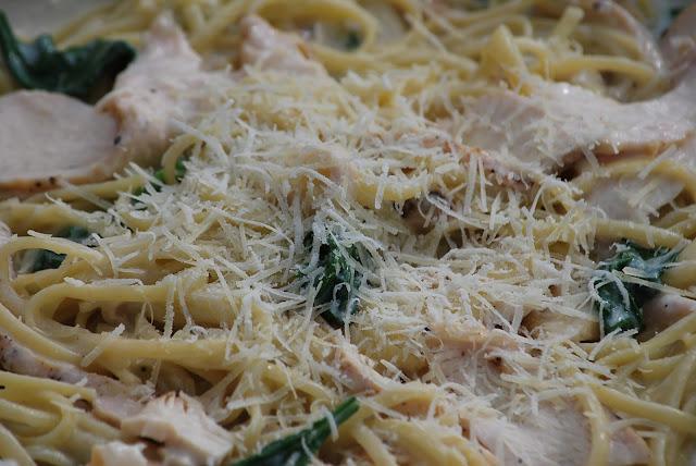 Grilled Chicken Florentine Pasta - Love, love, love this dish. It's ...